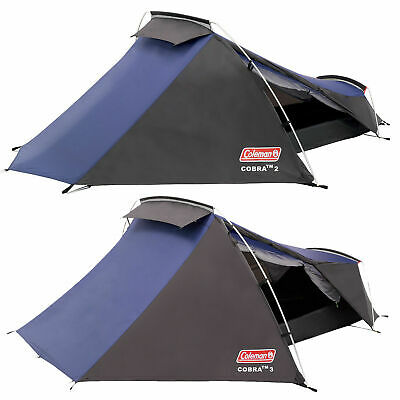 £124.85 • Buy Coleman Cobra Tent 2 3 Man Person Tent Lightweight Backpacking Festivals Camping