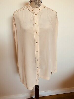 AU26 • Buy SASS & BIDE Peach Silk Blouse