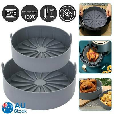 AU27.99 • Buy Multifunctional Air Fryer Silicone Pot Air Fryers Oven Accessories Baking Tray