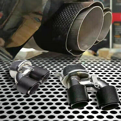 $ CDN200.46 • Buy Fit For 18-20 Accord Sport&Touring 4DR Carbon Dual Quad End Exhaust Tip Pipe