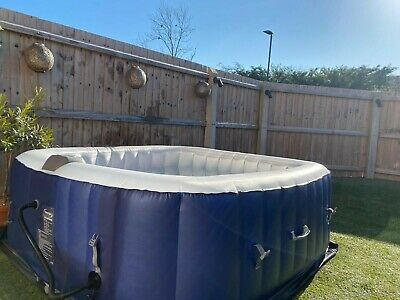 Clever Spa Inflatable Hot Tub 4-6 Person. Not Lay-z-spa/cosyspa • 132£