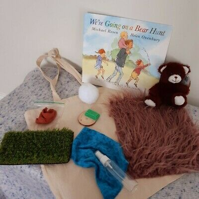 £15 • Buy Story Sack And Resources - We're Going On A Bear Hunt