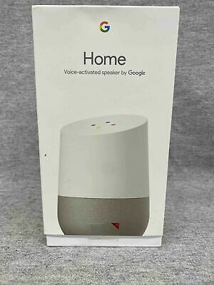 AU39.34 • Buy Google Home Smart Speaker & Google Assistant - White / Slate