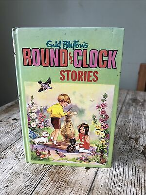 Enid Blyton Vintage Book Round The Clock Stories 1963 • 4.99£