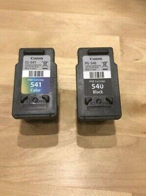 Canon Ink Cartridges PG-540 And CL-541 Empty • 2.50£