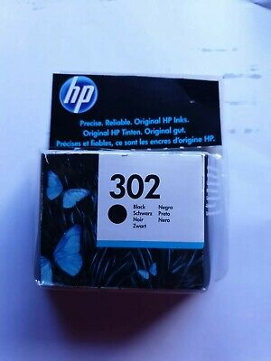 HP 302 Black Ink Cartridge - F6U66AE • 8£