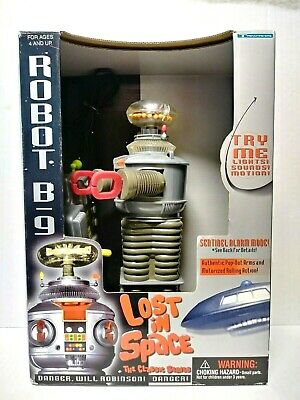 $ CDN99.08 • Buy 1997 Trendmasters Lost In Space Robot B9 Lights Sounds Motion
