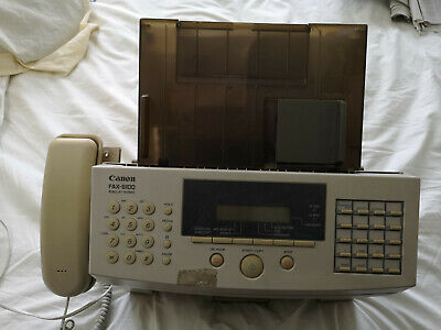 Canon B100 Telephone/Fax Machine. Uses Ordinary A4 Paper • 60£