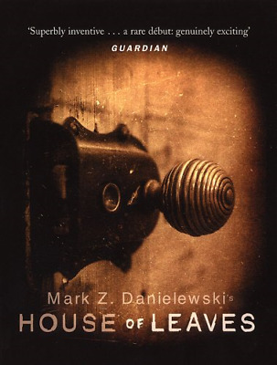 House Of Leaves, Very Good Condition Book, Mark Z Danielewski, ISBN 978038560310 • 15.12£
