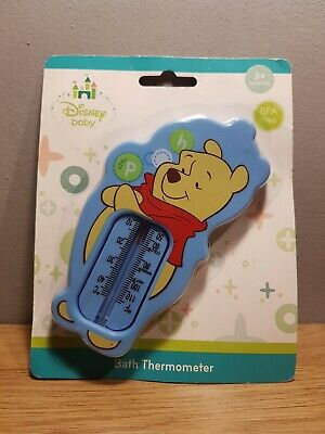 £5.50 • Buy Official Disney Baby Winnie The Pooh Baby Bath Thermometer NEW Fast & Free Post
