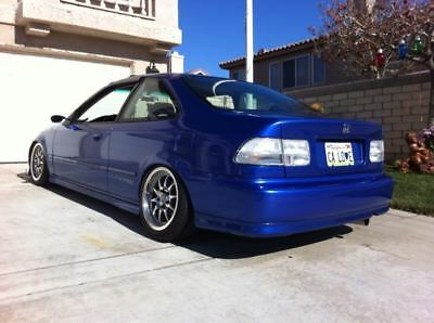 $155 • Buy Honda Civic Si Ex Em1 Ej8 Ej7  Coupe 96 00 All Clear Taillight Lenses Jdm Dx Si