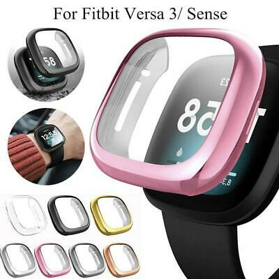 $ CDN4.77 • Buy Shockproof TPU Thin Screen Protector Cover Case For Fitbit Versa 3 Fitbit Sense