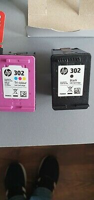 EMPTY HP 302 Black/Tri-color Original Ink Cartridges - 2 Pack • 3.60£