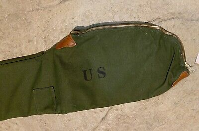 $ CDN43.35 • Buy  WW2 Reproduction US M1 Garand Fleece Lined Canvas Carrying Case Shade #3 Or #7