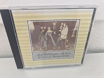 Rick Wakeman The Six Wives Of Henry Viii - Cd Album - A&m Label  • 0.99£