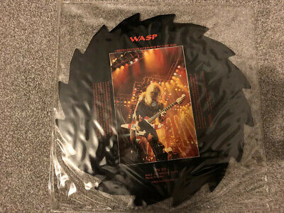 W.A.S.P Saw Blade Interview Picture Disc • 12£