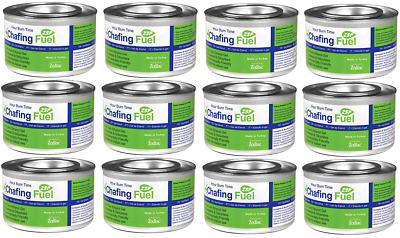 £7.99 • Buy  Ethanol Chafing Gel Fuel Catering 3.5 Hr Burn BBQ Fuel Buffet Camping Parties