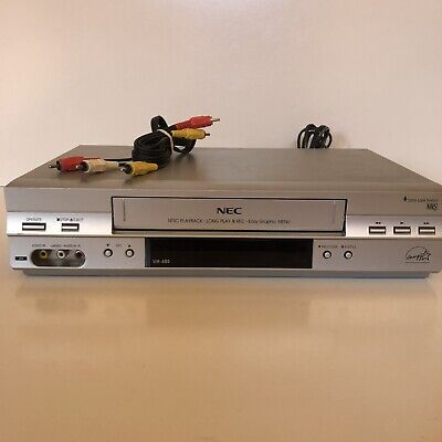AU69.99 • Buy NEC VH-605 VCR VHS Player Recorder NO Remote - Tested & Working! Free Postage