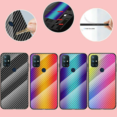 AU9.98 • Buy For OnePlus Nord N10 N100 5T 6T 7T 8T 8Pro Hybrid Tempered Glass Hard Case Cover