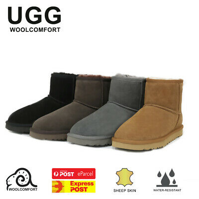 AU59.80 • Buy UGG Classic Mini Boots Water Resistant Premium Australian Sheepskin - 4 Colours