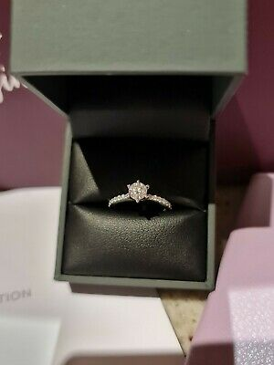 AU1000 • Buy Michael Hill Diamond Engagement Ring 1/2ct (0.47ct) Colour E Clarity I1 Size H