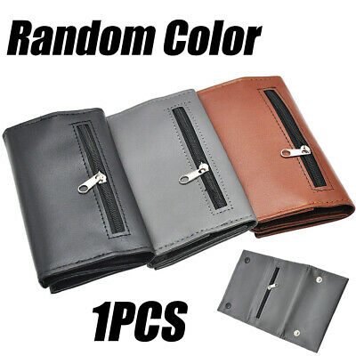 Portable Leather Cigarette Case Bag Tobacco Pipe Rolling Purse Pouch Organizer • 4.69£