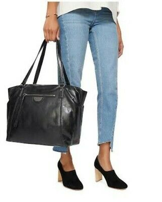 AU80 • Buy MIMCO Sentiment Tote Bag. Black Leather.