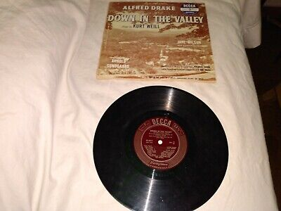 £10.86 • Buy  1950's Era  Down In The Valley  Records 33rpm
