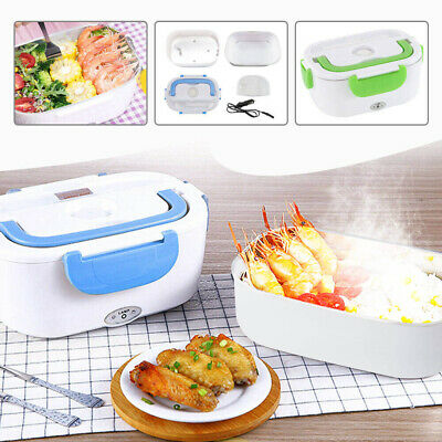 AU11.59 • Buy 1.3-1.5 L  New 12V Heated Lunch Box Eco-Friendly Leakproof Food Container AU