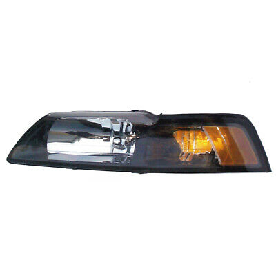 $54 • Buy Headlight Front Lamp For 99-00 Ford Mustang Driver Left