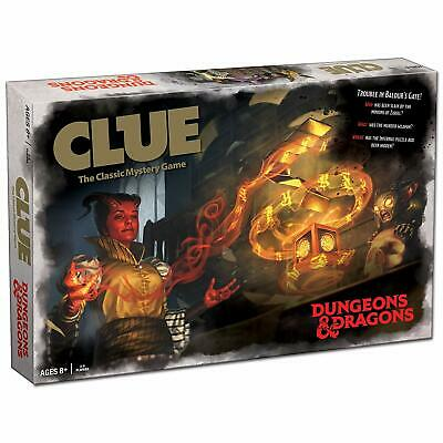 AU49.25 • Buy Clue Dungeons & Dragons D&D Edition 2019 Board Game