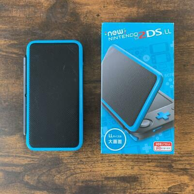 AU198.58 • Buy Nintendo New 2DS LL XL Black Turquoise Console (used)