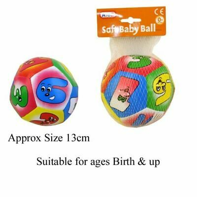 £7.95 • Buy Baby Soft Fabric Ball Numbers Play Roll Toy Baby 0+ Months Infant UK Educational