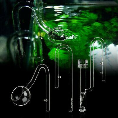 £21.98 • Buy 13/17mm Aquarium Planted Glass Outflow Lily Pipe, Inflow, Surface Skimmer,Poppy