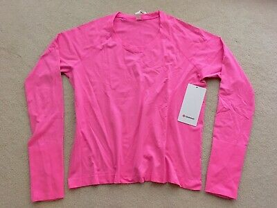 $ CDN149.99 • Buy Lululemon Swiftly Tech Long Sleeve 2.0 RACE Length Prism Pink 12