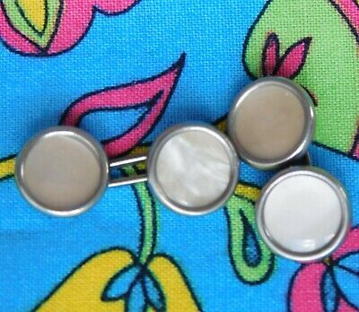 £16 • Buy Art Deco Double Cufflinks Vintage Early 20th Century For Men Or Women Pair OR