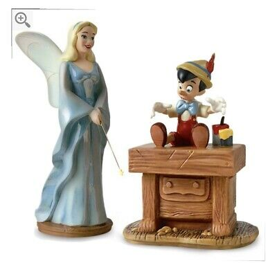 $ CDN175.45 • Buy Disney WDCC 4004464 Blue Fairy And Pinocchio The Gift Of Life Is Thine W/COA