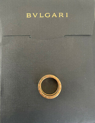 AU1429.07 • Buy Authentic BVLGARI B.zero1 3 Band Rose Gold Ring Size 52