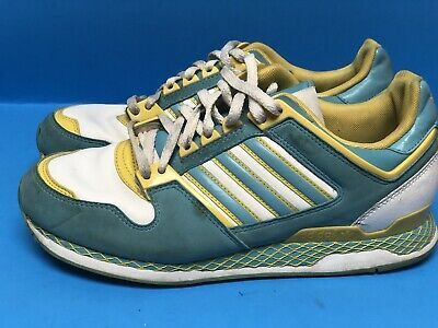 $ CDN50.07 • Buy Adidas Yellow & Teal Running Shoe Women's 6.5 (Men's 5.5)
