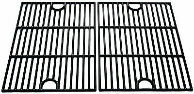 $ CDN113.21 • Buy WELL GRILL Enamelled Cast Iron Grill Grate Grid Rack Replacement Part Weber 2pcs