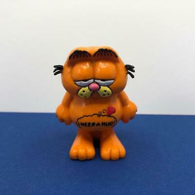 £9.99 • Buy Vintage Bullyland Garfield The Cat I Need A Hug PVC Toy Figure Ornament 1980s