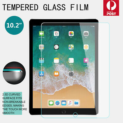 AU8.59 • Buy For IPad 7 7th Generation 8 8th Gen 10.2 Inch Tempered Glass Screen Protector AU