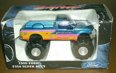 AU58.15 • Buy 1/64 Scale 1999 Ford F350 Super Duty Bigfoot Monster Truck Diecast Toy (3.25 )