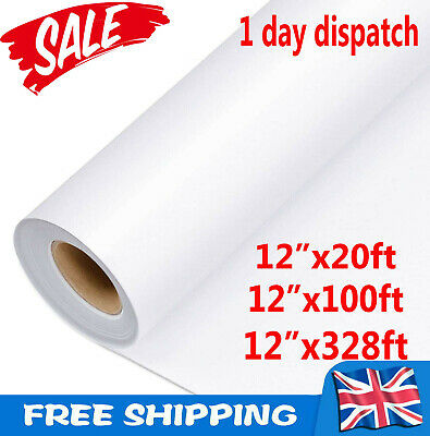 £27.76 • Buy UK 100M Clear Vinyl Application Tape For Car Wall Craft Art Decal Transfer Paper