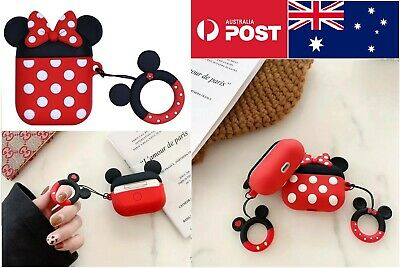 AU8.99 • Buy Apple AirPods Case 1/2 And Pro Minnie Mike Mickey Soft Airpods Case Cover