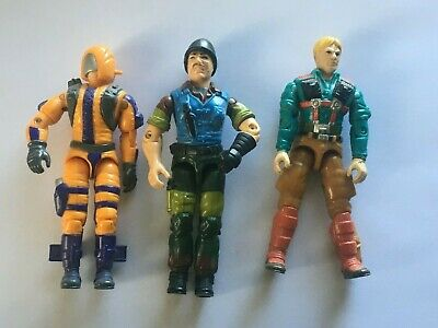 $ CDN1.24 • Buy Vintage 1989 G.I. Joe Lot Of (3) V1 HEAT Viper, Downtown, And Mutt Figures Only