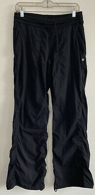 $ CDN7.79 • Buy Lululemon Dance Studio Size 8 Black Pants Unlined
