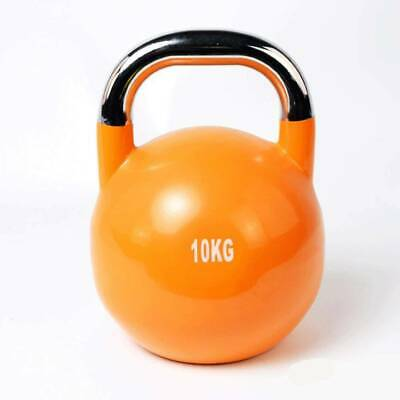 AU38 • Buy 8KG/10KGPro Grade Competition Kettlebell Fitness Gym Strength Weight Set