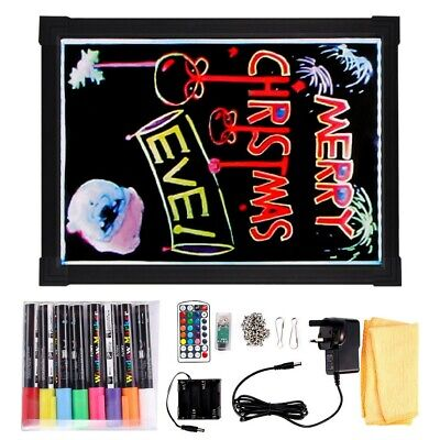 £11.99 • Buy Sensory LED Light Up Writing/Drawing Board Special Need Autism ADHD Kid Toy Gift