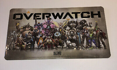 AU16.96 • Buy Blizzard Entertainment Overwatch Limited Edition Collectable Metal Art Plate